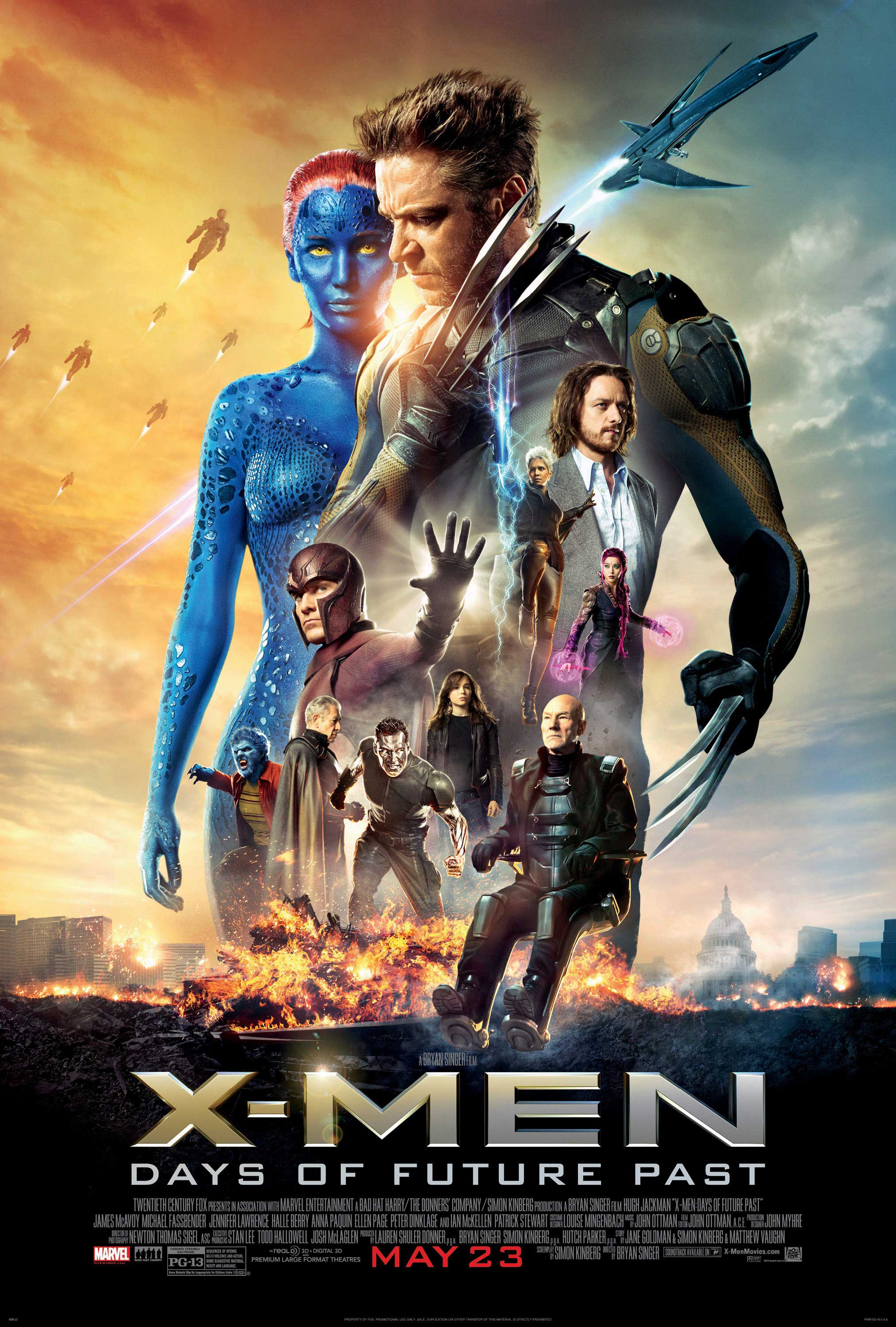 X-Men: Days of Future Past (2014) — Decent, but too may plot holes ...